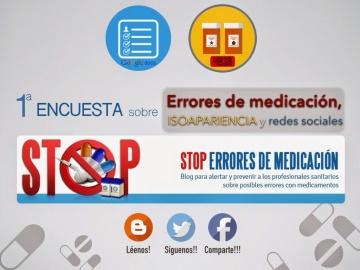 1ª Encuesta sobre #SegPac y #StopErroresMed. RT!