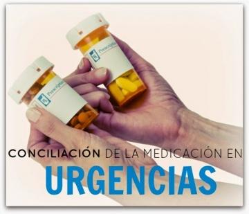 Conciliación de la medicación en #URGENCIAS @red_faster @SegPacSEMES