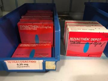 Synacthen y Nuvacthen Depot