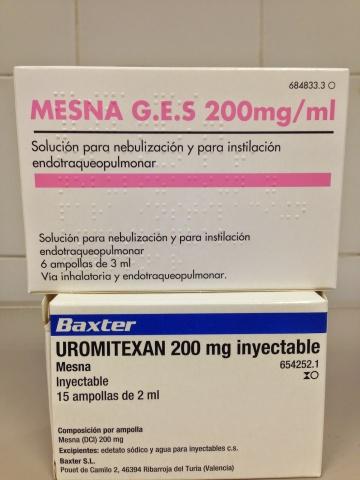 """EL CASO MESNA: Un """"no error"""" de medicación."""