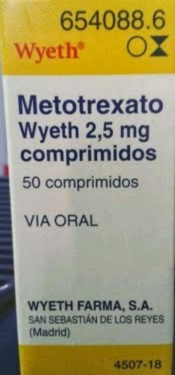 """""""El Metotrexato ORAL es SEMANAL"""" @AEMPSGOB"""