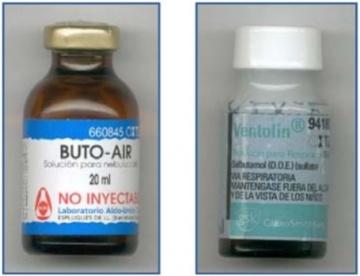 Presentaciones multidosis de salbutamol