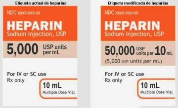 MEDICAMENTOS DE ALTO RIESGO: HEPARINA SÓDICA IV