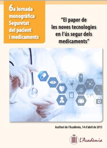 VI Jornada monográfica de Seguridad y Medicamentos @SCFarmClin