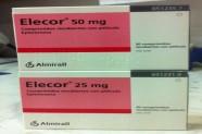 Elecor 25-50 mg (Eplerenona) [Lab. Almirall]