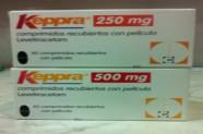 Keppra 250-500 mg (Levetiracetam) [Lab. UCB]