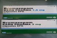 Bromazepam 1,5 mg & 3 mg [Lab Kern Pharma]