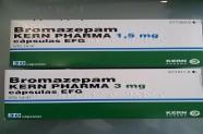 Bromazepam 1,5 mg & 3 mg [Lab Kern Pharma]