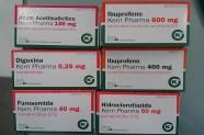 Ácido Acetil Salicílico 100 mg & Ibuprofeno 400 mg & Ibuprofeno 600 mg & Digoxina 0,25 mg & Furosemida 20 mg & Hidroclorotiazida 50 mg [Lab. Kern Pharma]