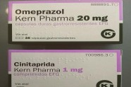 Omeprazol 20 mg & cinitaprida 1 mg [Lab. Kern Pharma]
