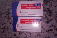 Atenolol Aristo 100 mg & Lisinopril Edigen 20 mg