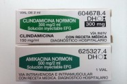 Clindamicina 300 mg & Amikacina 500 mg [Lab. Normon]