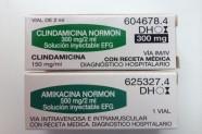 Clindamicina 300 mg & Amikacina 500 mg [Lab. Normon]