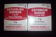 Cefazolina 1 g & Cefonicid 1 g [Lab. Normon]