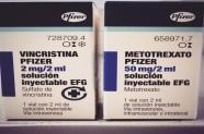 Vincristina 2 mg & Metotrexato 50 mg [Lab. Pfizer]