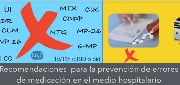 4 recomendaciones para la prevención de errores de medicación en pacientes hospitalizados